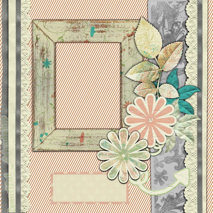Background, Scrapbook, Template, Retro, Sepia, Comic