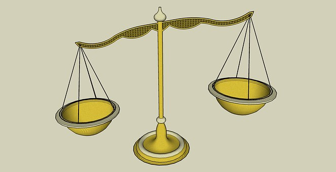Scale, Gold, Weigh, Balance, Weight