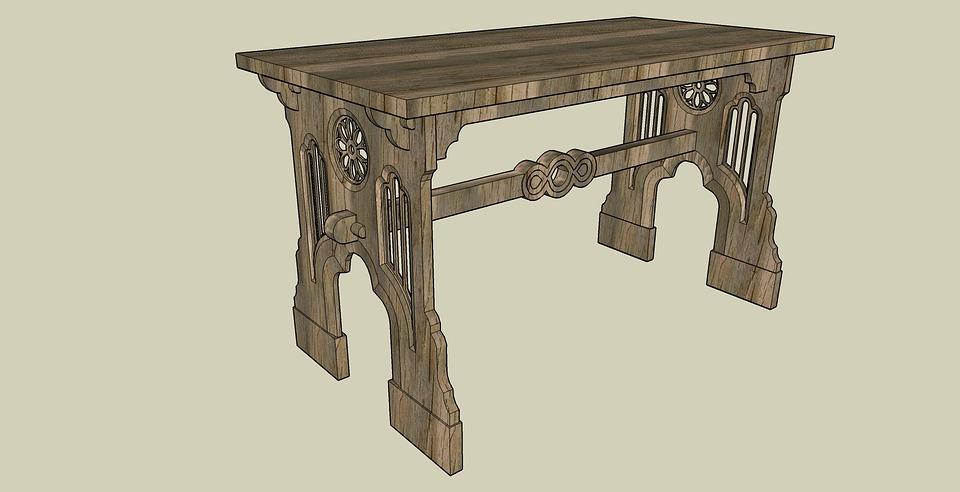 Table vieux bureau · image gratuite sur pixabay