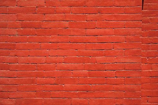 Red Brick Texture Wall House Brick Wa