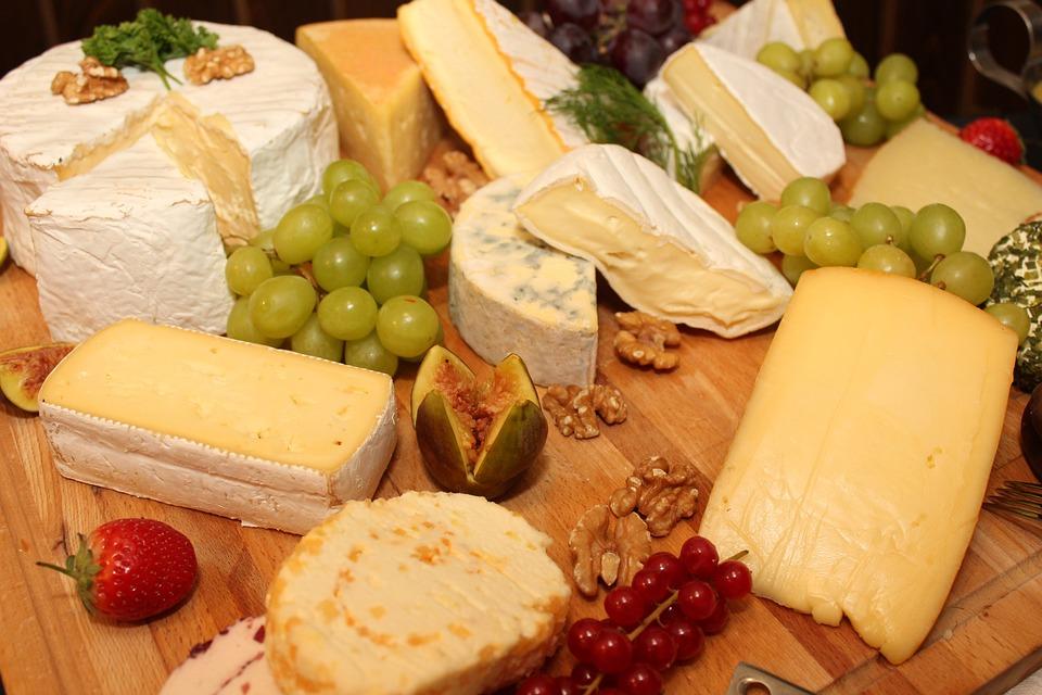 Käseplatte, Fromage, Buffet, Buffet Froid, Salade