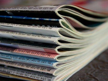 Περιοδικά, Ανάγνωση, Εφημερίδες