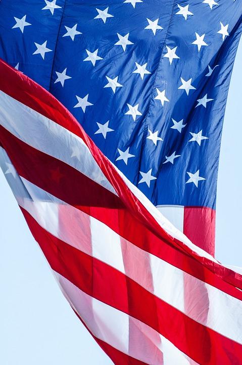 American Flag Flag Red White Blue