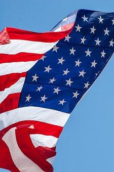 American Flag Flag Waving Flag Americ