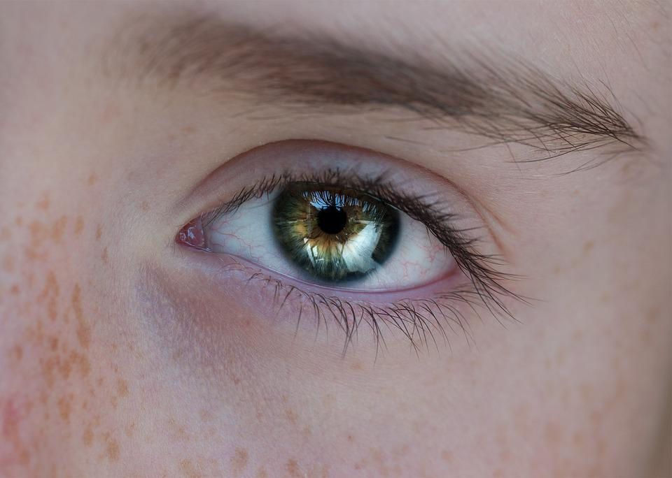 Eye, Human, Person, Close Up, View, Pupil