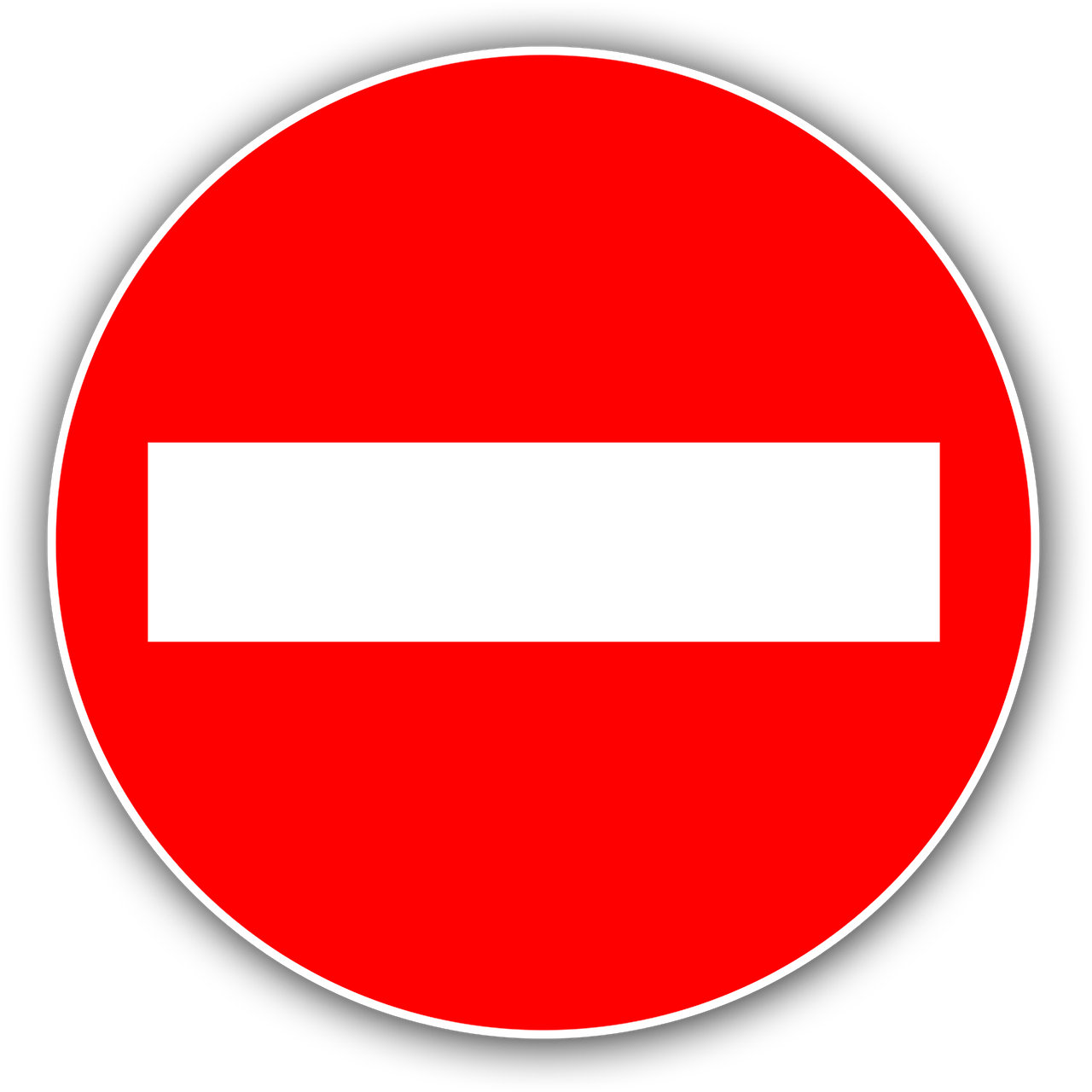 Panneau Sens Interdit Image Gratuite Sur Pixabay