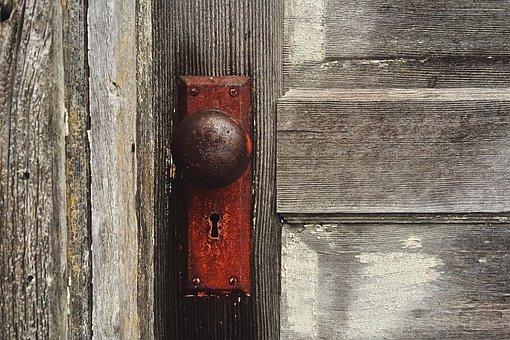 Door Knob Vintage Antique House Door Door