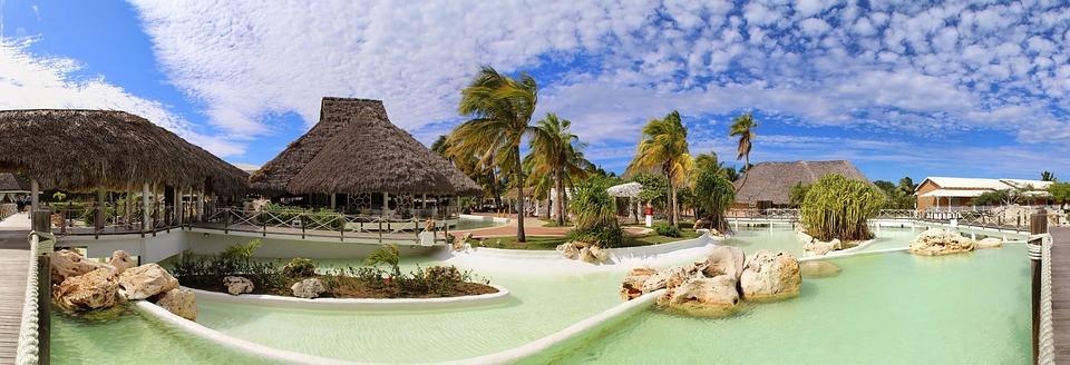 Hotel, Cuba, Ocio, Complejo, Vacaciones, Paraíso