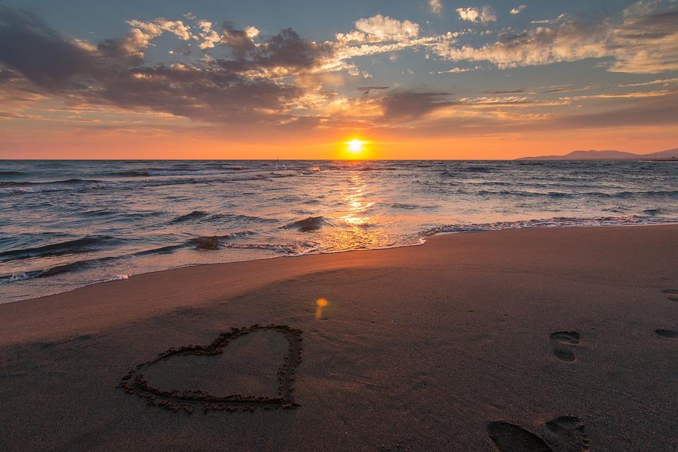Mare, Sfondo, Beach, Bella, Blu, Nuvole, Costa, Colore