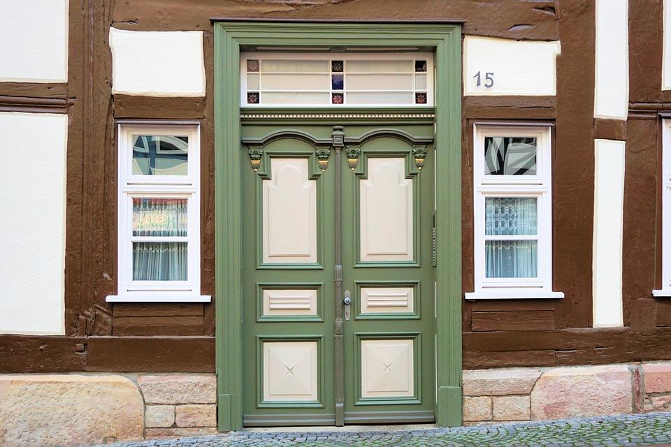 Haustür Eingang eingangstür tür hauseingang kostenloses foto auf pixabay