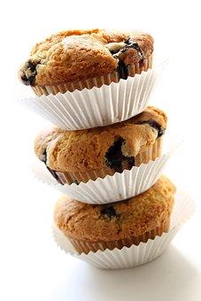 Vegan, Blueberry Muffin, Natural