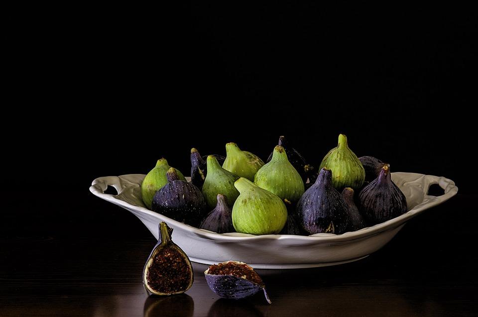 Still Lifes, Figs, Green Figs, Sweet, Fruit, Fig Tree