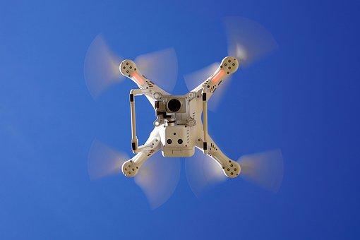 Drone, Phantom, Dji, Professional