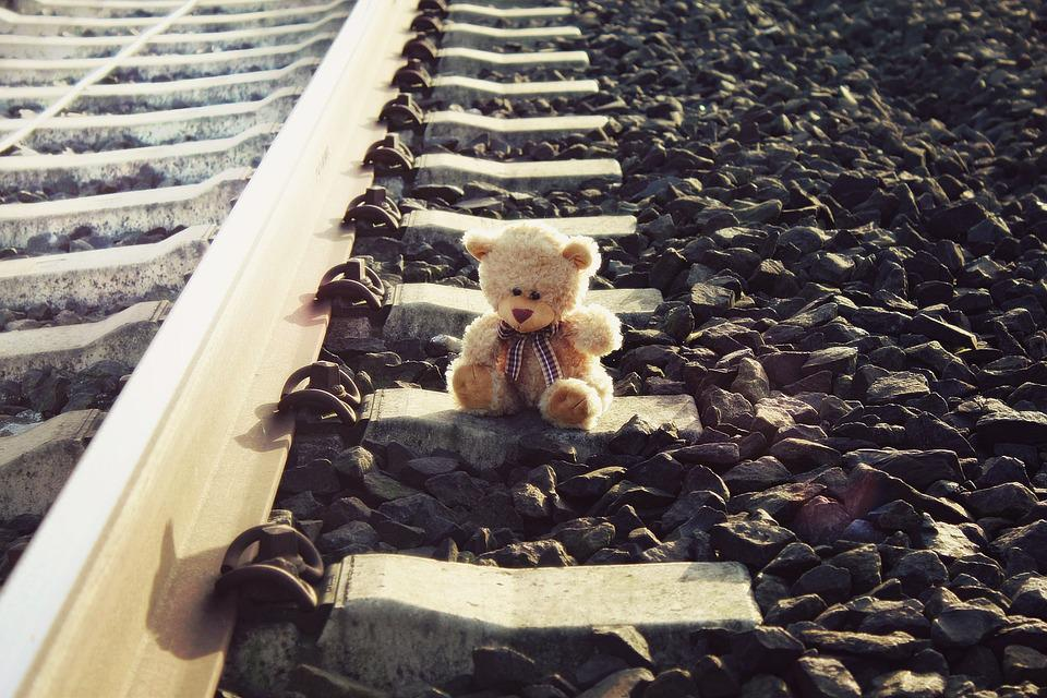 Teddy rail bear free photo on pixabay teddy rail teddy bear bear sun cold winter altavistaventures Choice Image