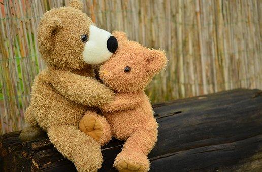 Тедди, Плюшевый Медведь, Снаггл, Любовь