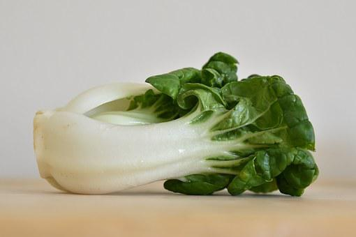Bok Choy, Vegetable, Green, Food