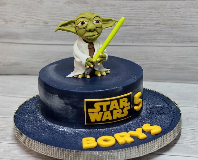 Cake Birthday Star Wars 183 Free Photo On Pixabay