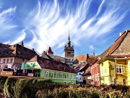 Sighisoara, Rumunsko, Dracula Rodiště