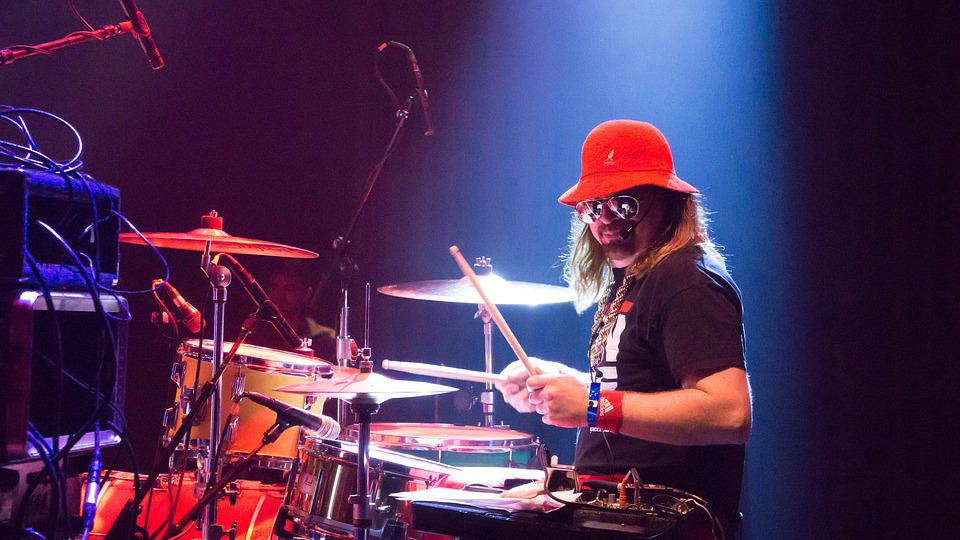 drummer live music stage  u00b7 free photo on pixabay