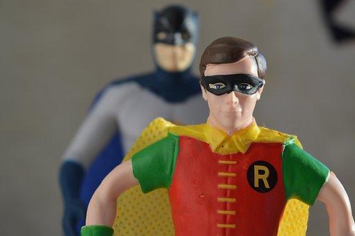 Robin, Batman, Superheroes, Comic, Toys