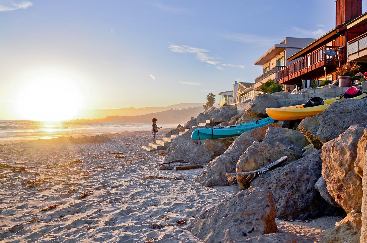 лос анджелес фото пляж питательный завтрак
