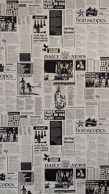 Foto gratis Periódico, Blanco Y Negro  Imagen gratis en