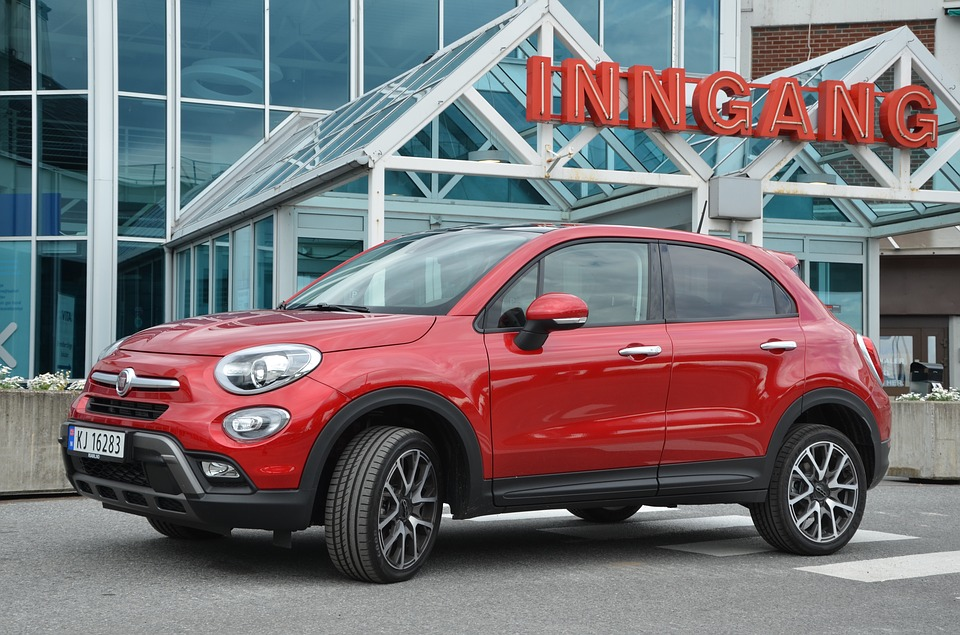 free photo: fiat 500x, functional, design - free image on pixabay