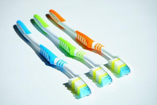 歯のブラシ, 衛生, 歯科医療, クリーン, 歯科衛生士, きれい