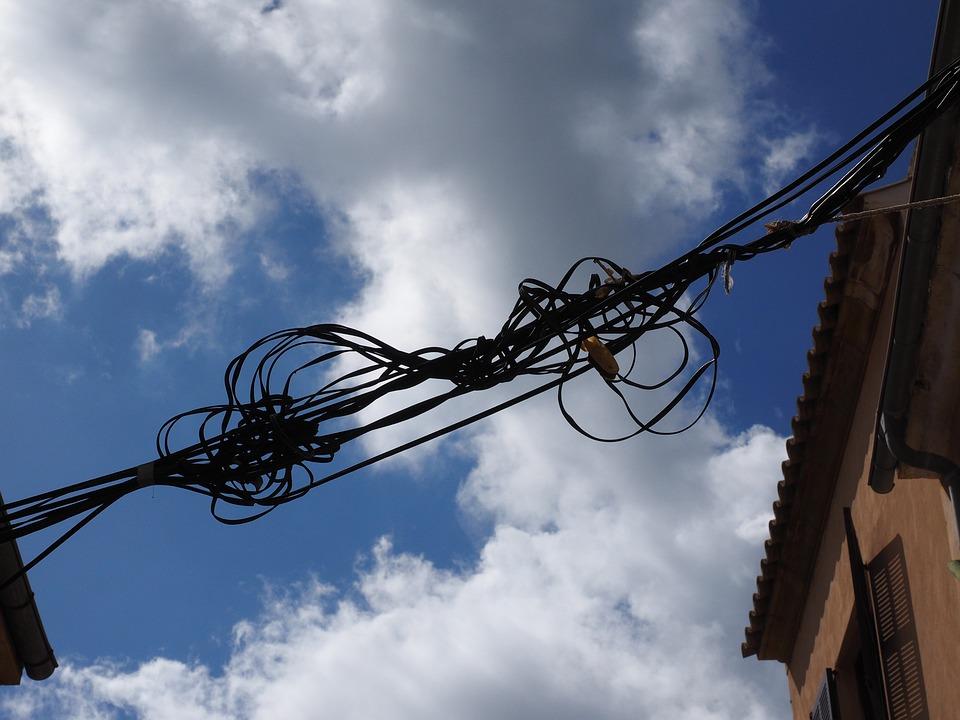 Cable Current Elektrik Power · Free photo on Pixabay