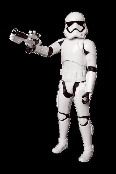 Star Wars stormtrooper Lansay : King Jouet, Jeux cratifs