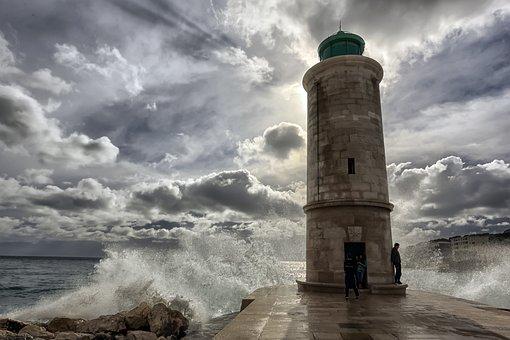 Marseille, Mer, Ondes, Phare, Vieux Port
