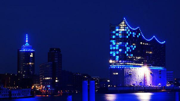Hamburg, Elbphilharmonie, Hafencity
