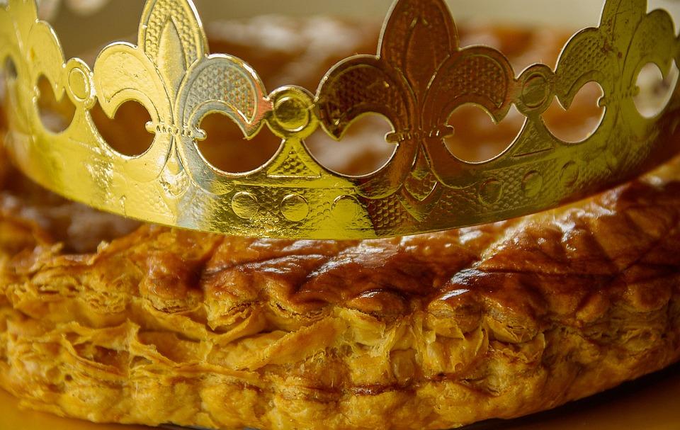 galette des rois couronne galette ptisserie
