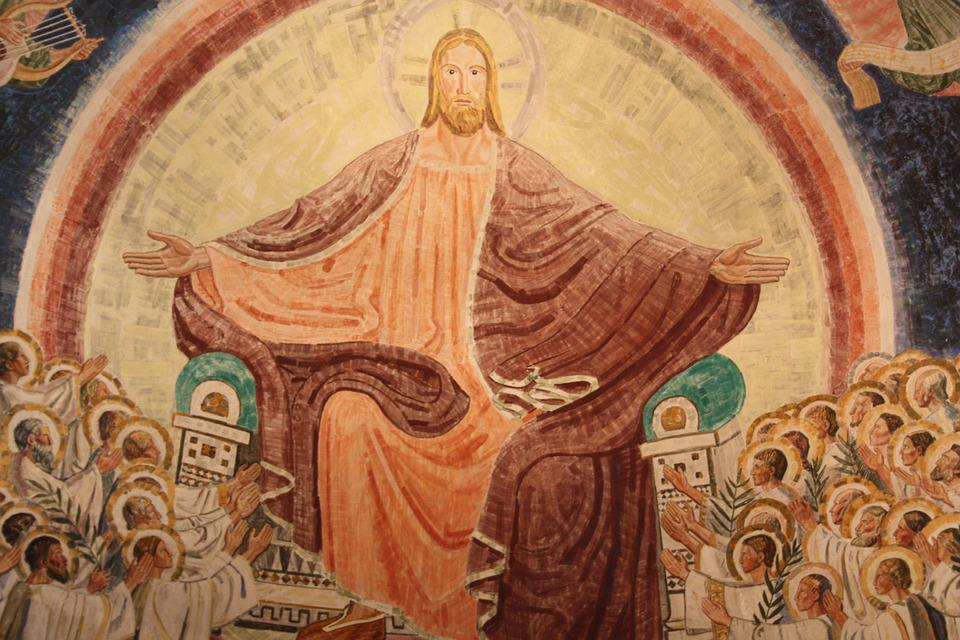 Christian, Jesus, Painting, Great, Viborg Cathedral