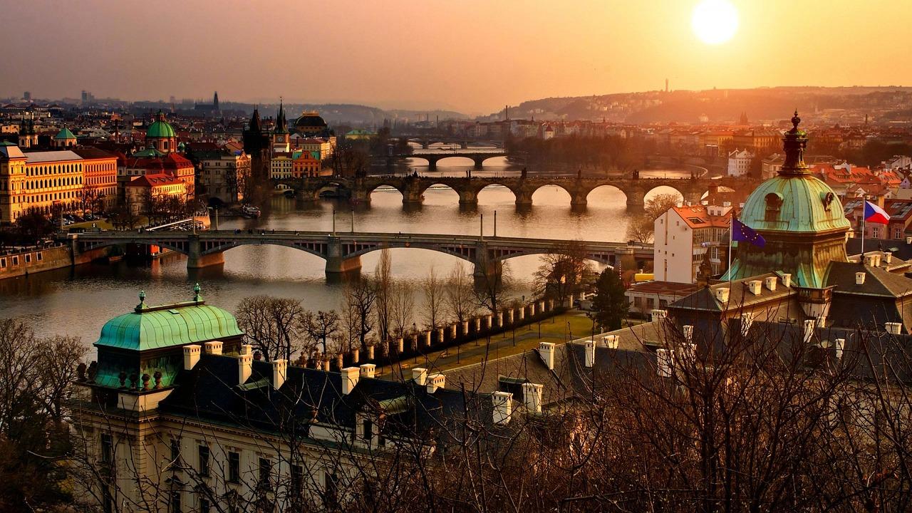 Prága, Panoráma