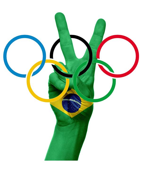 Kostenlose Illustration: Olympische Ringe, Olympiade ... Олимпийские Кольца