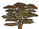 love, tree, knowing