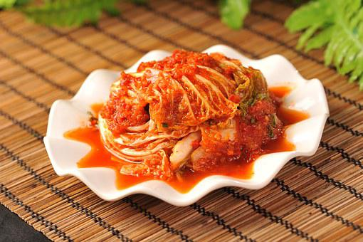 白菜のチリソース煮, 東北、中国料理, ホットソース, 白菜, 次の日