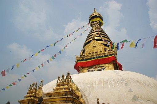 Stupa, Kathmandu, Buddhist, Temple
