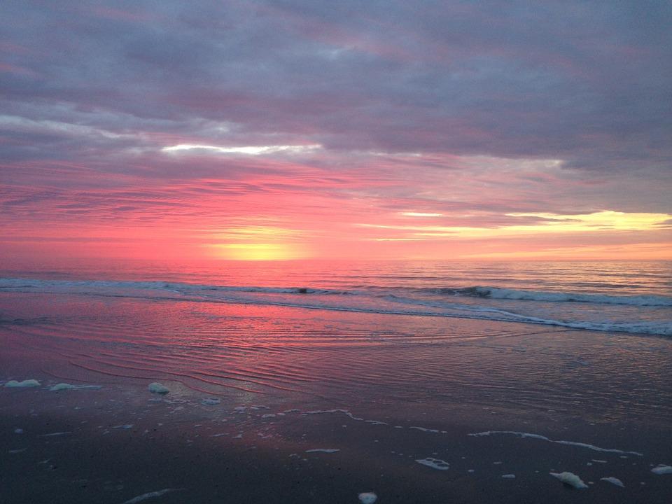 Sunset Hilton Head South Carolina Water Island