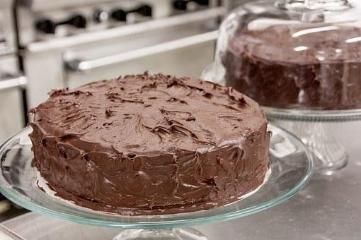 Chocolate, Cake, Dessert, Chocolate Cake