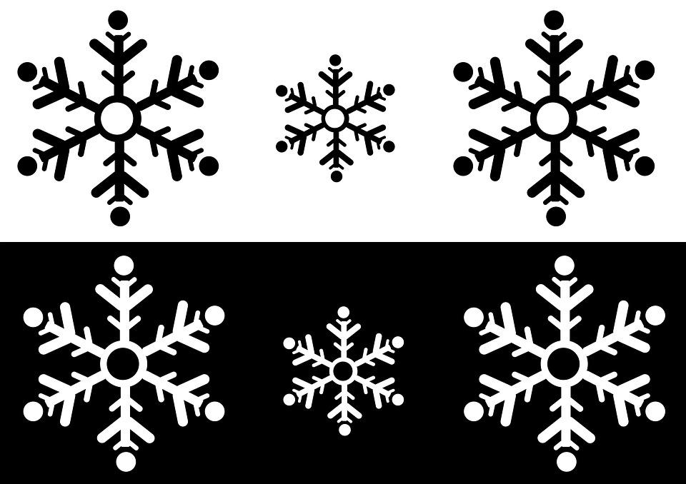 Schneeflocke grafik winter kostenloses bild auf pixabay - Grafik weihnachten kostenlos ...