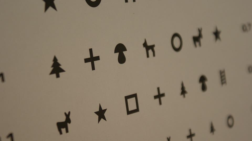 ビジョン ボード, 眼科, 眼科医, 視力検査