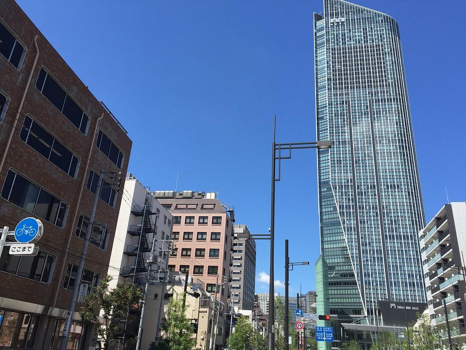 東京, 日本, シティ, オフィス, 虎ノ門ヒルズ, 職場