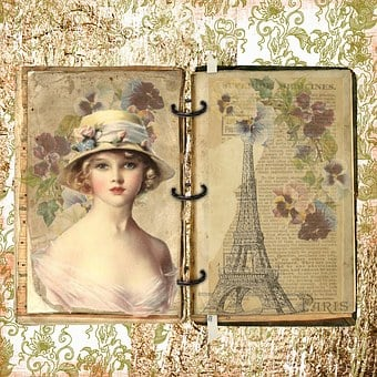 Image result for vintage french attractive women paris drawing