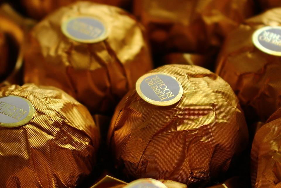 Ferrero, Chocolate, Gold