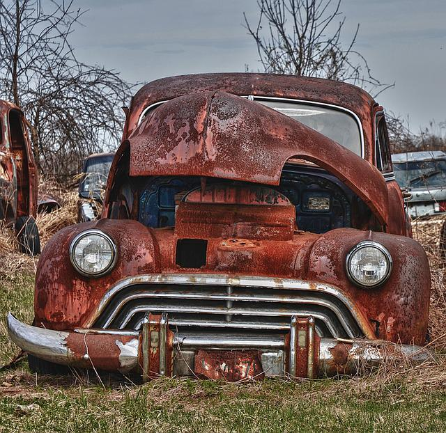 Old Car Rusted 183 Free Photo On Pixabay