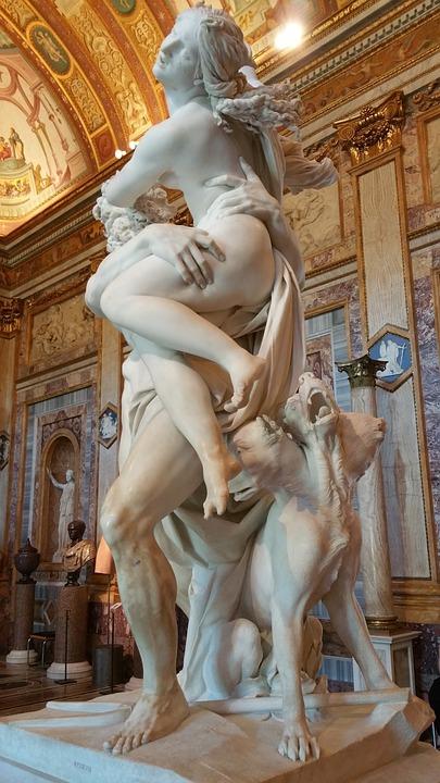 Très Photo gratuite: Bernin, Galleria, Rome, Borghese - Image gratuite  CM02