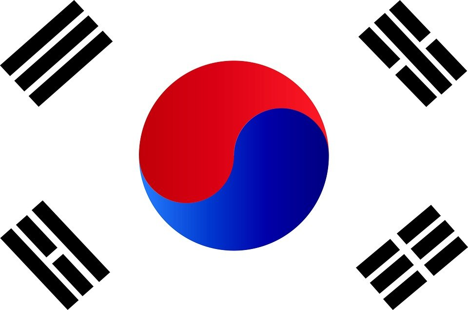Republic of korea flag south free image on pixabay - Picture of a korean flag ...