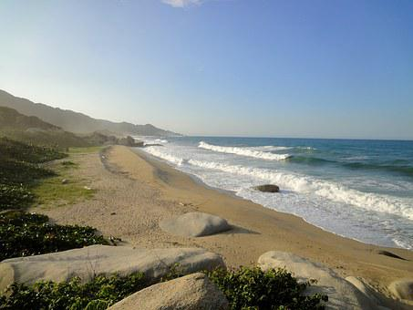 Parque Tayrona, Beach, Santa Martha, Sea